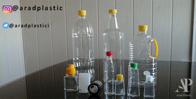 فروش بطری پلاستیکی نیم لیتری دسته دار